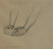 Hands study for Daily Bread, 2012