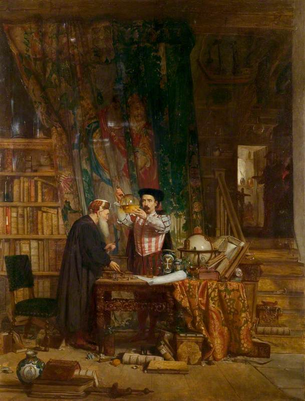 Douglas, William Fettes; The Alchemist; Paintings Collection; http://www.artuk.org/artworks/the-alchemist-32329